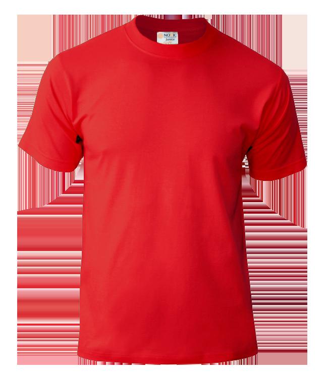 Футболка подростковая Novic Junior 155, красная