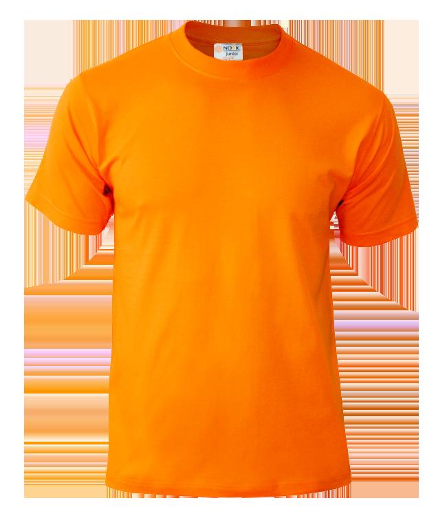 Футболка подростковая Novic Junior 155, оранжевая