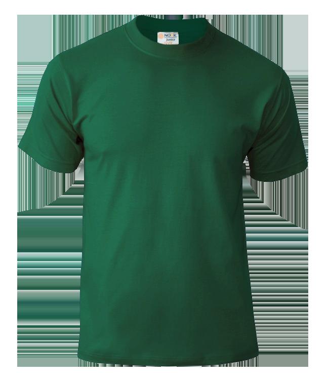 Футболка подростковая Novic Junior 155, темно-зеленая