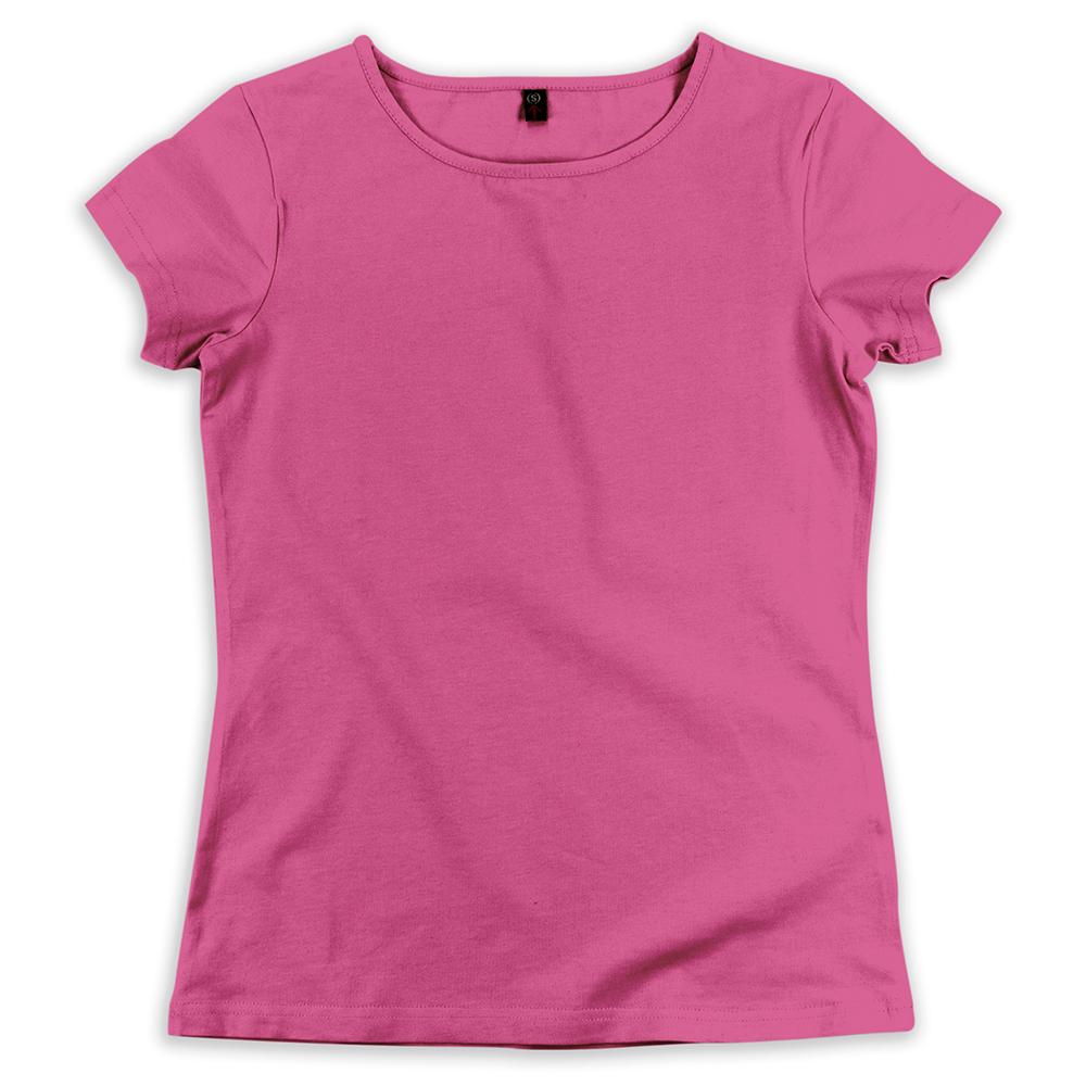 Футболка женская StarkCotton Стрейч 180, розовая