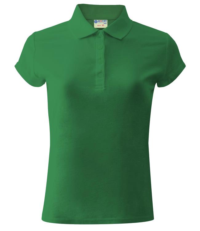 Рубашка поло женская Redfort 205, ярко-зеленая