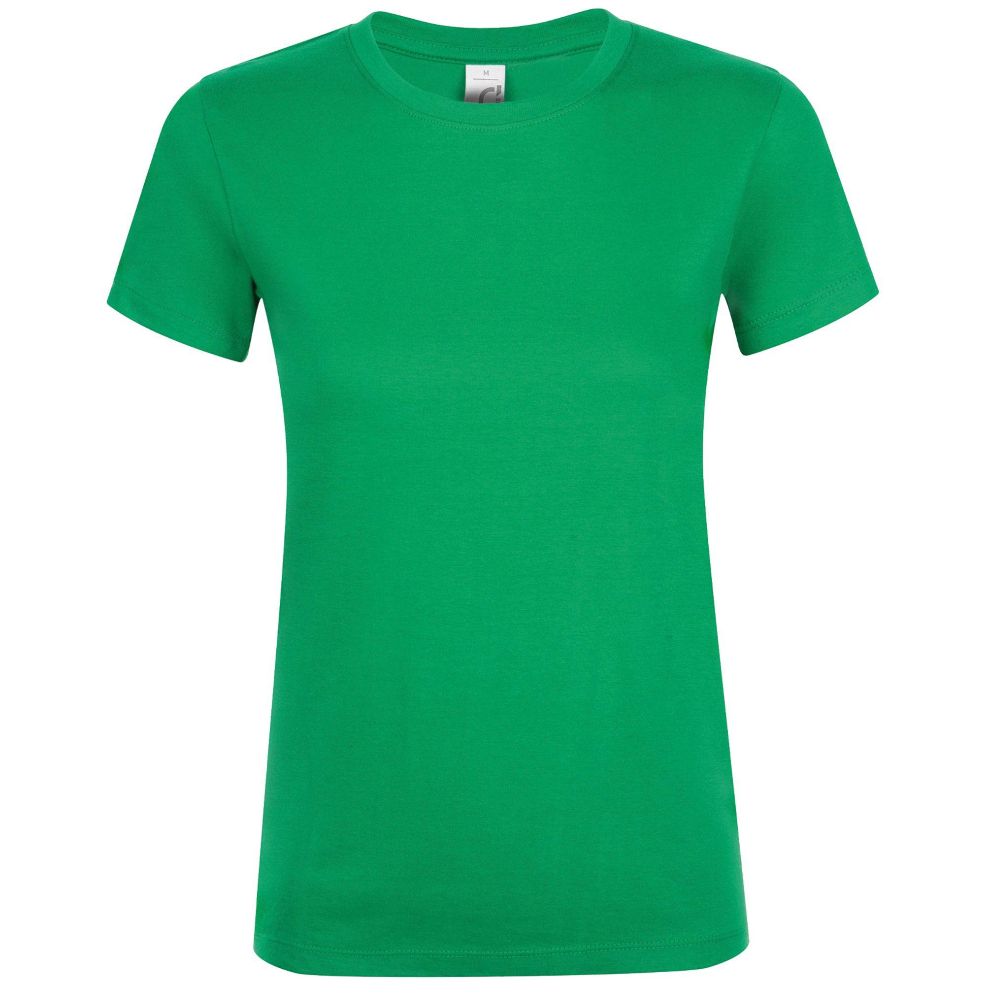 Футболка женская REGENT WOMEN, ярко-зеленая
