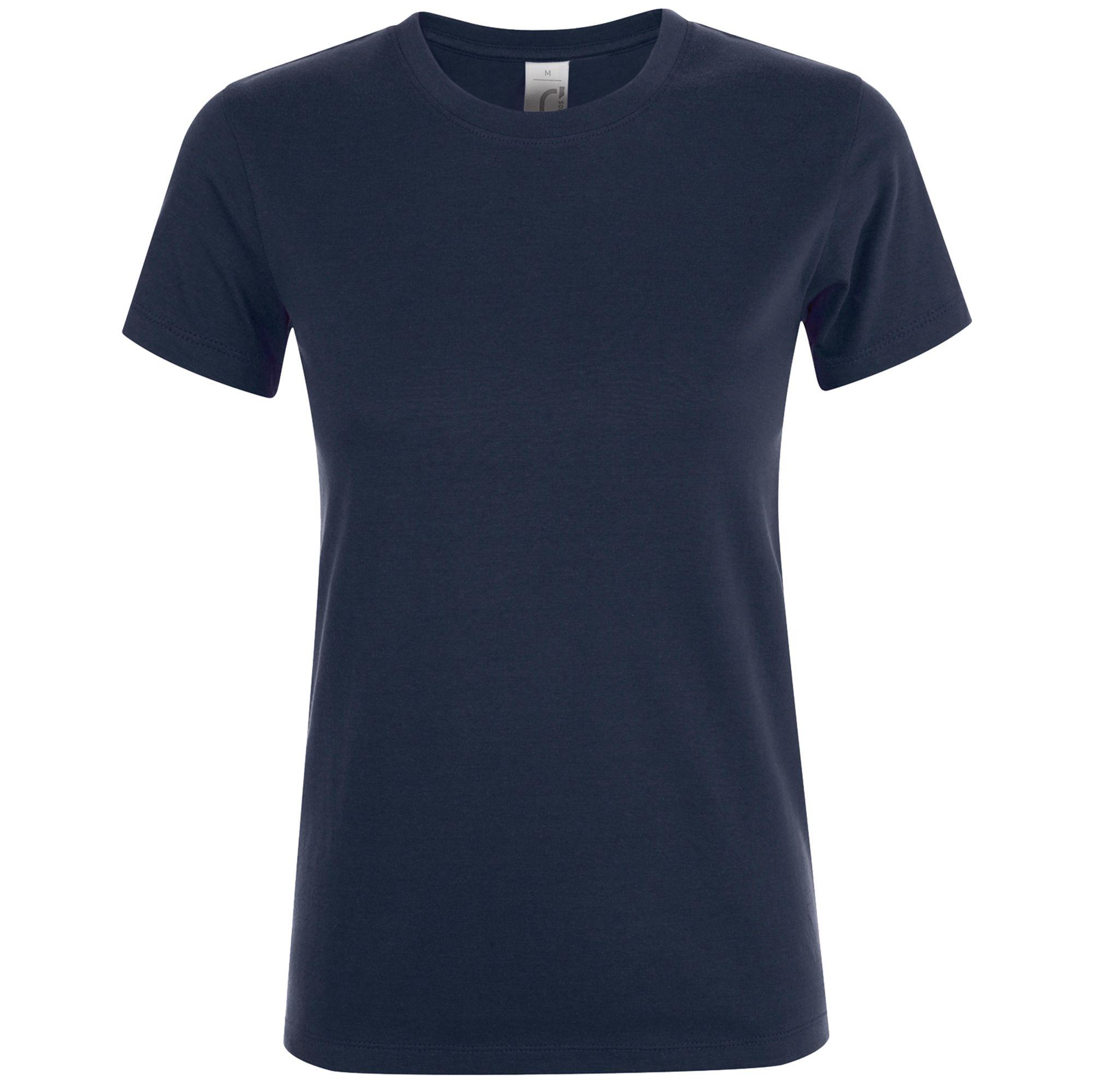 Футболка женская REGENT WOMEN, кобальт (темно-синяя)