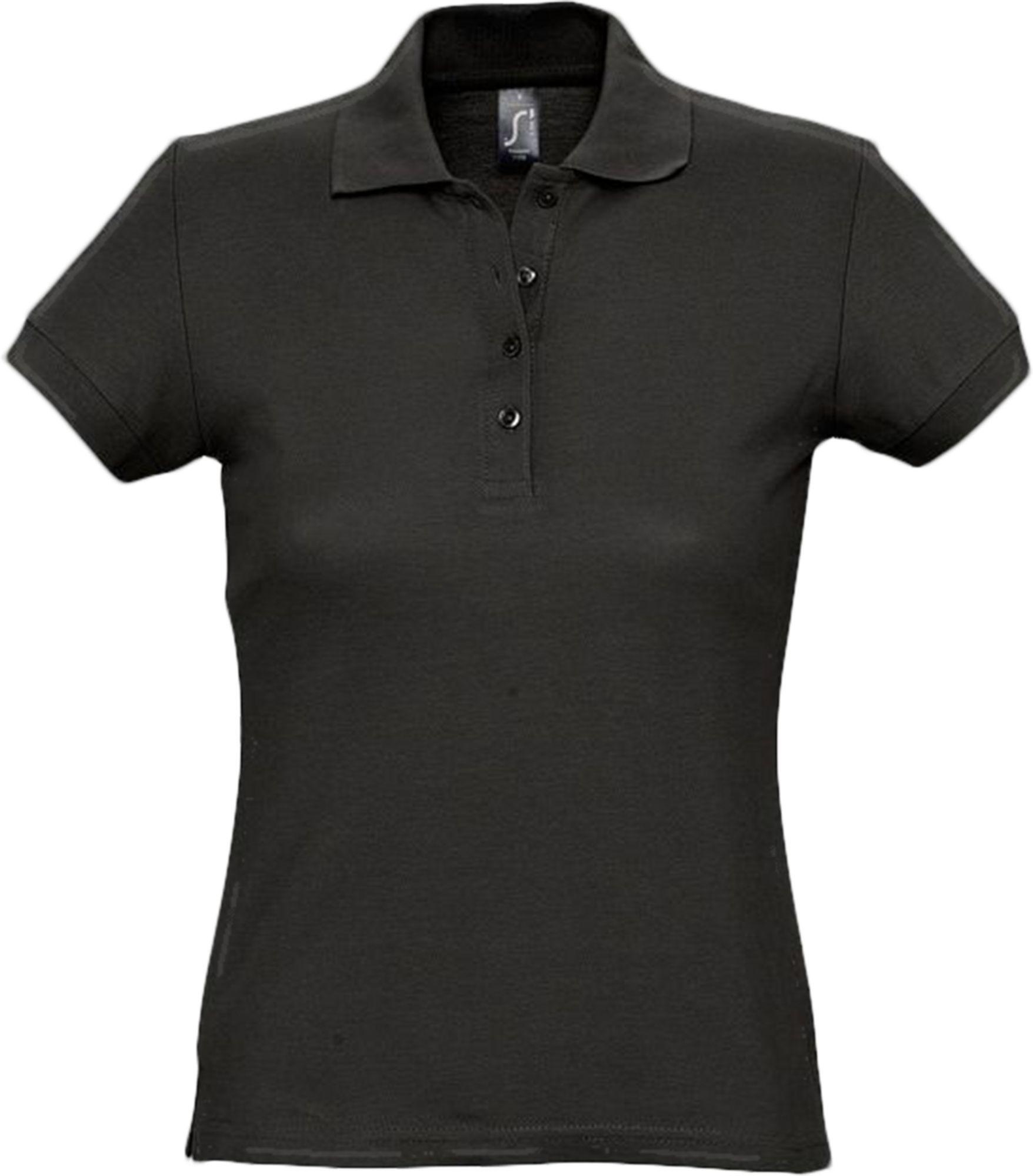 Рубашка поло женская PASSION 170, черная