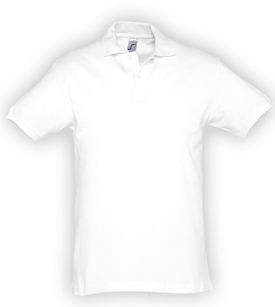 Рубашка поло мужская SPIRIT 240, белая