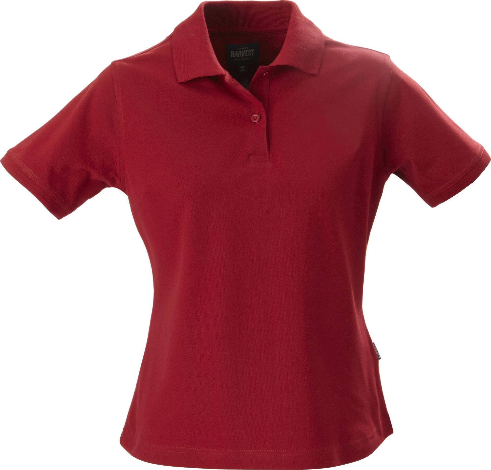 Рубашка поло стретч женская ALBATROSS, красная