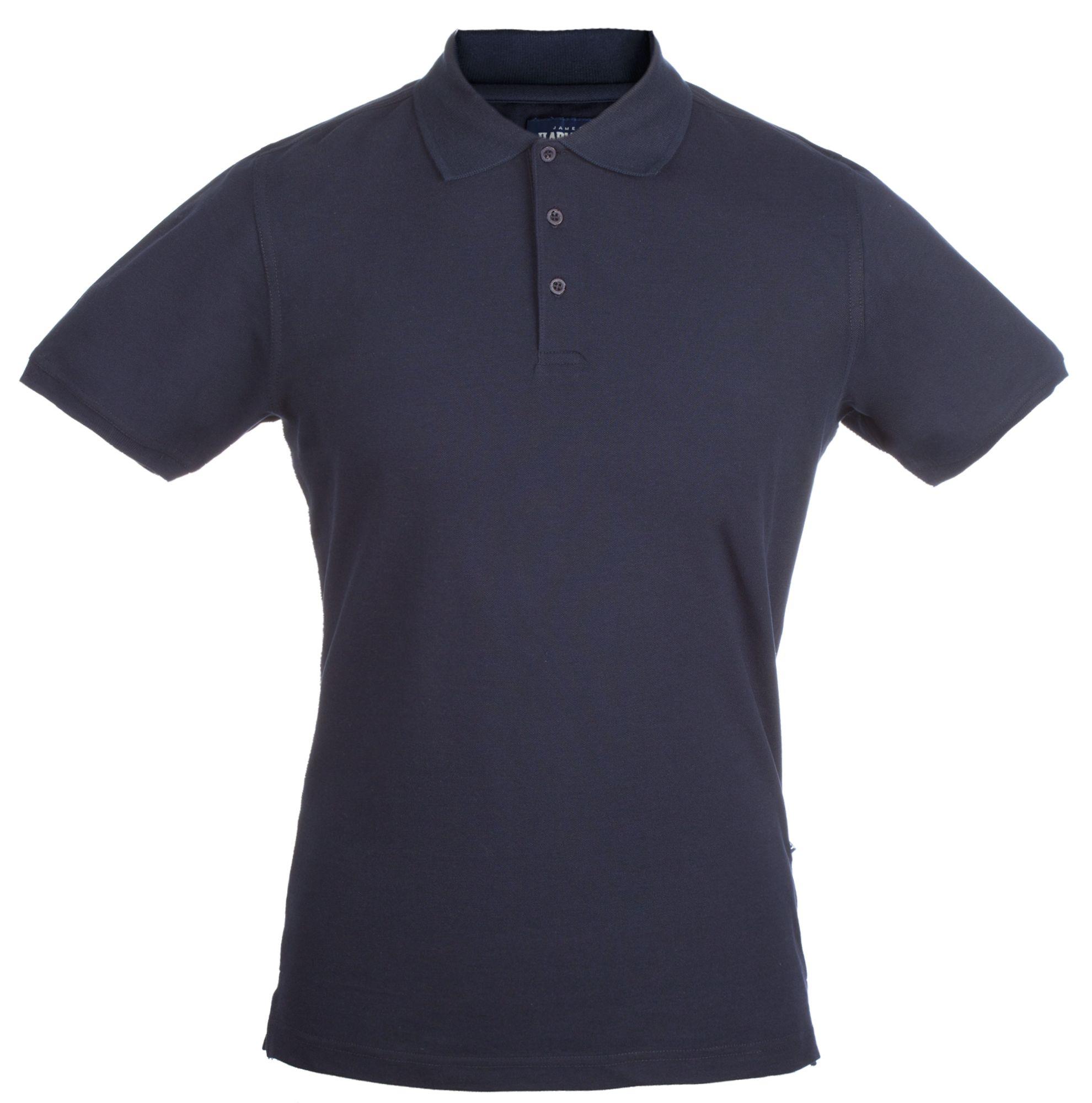 Рубашка поло стретч мужская EAGLE, темно-синяя
