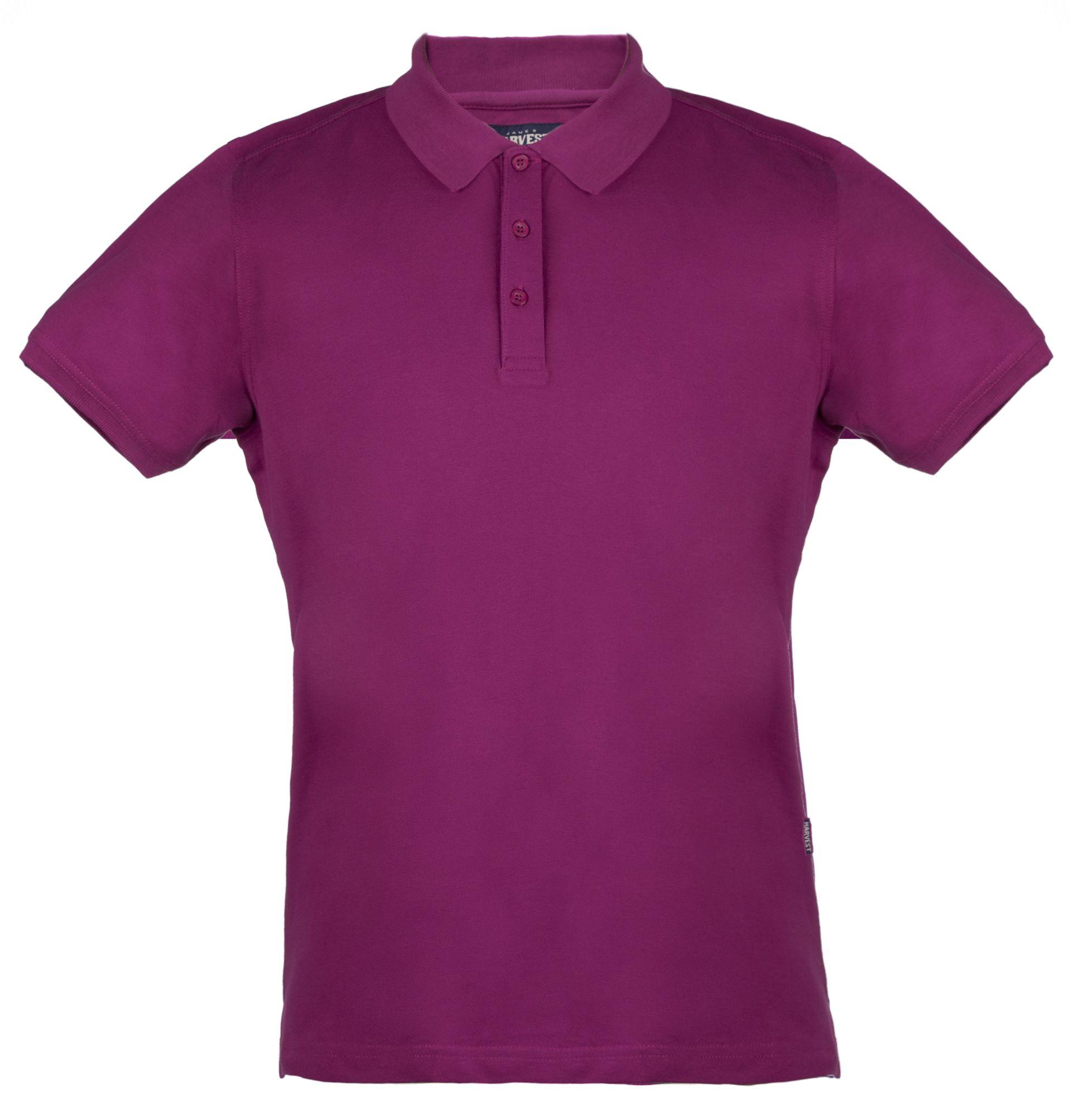Рубашка поло стретч мужская EAGLE, лиловая