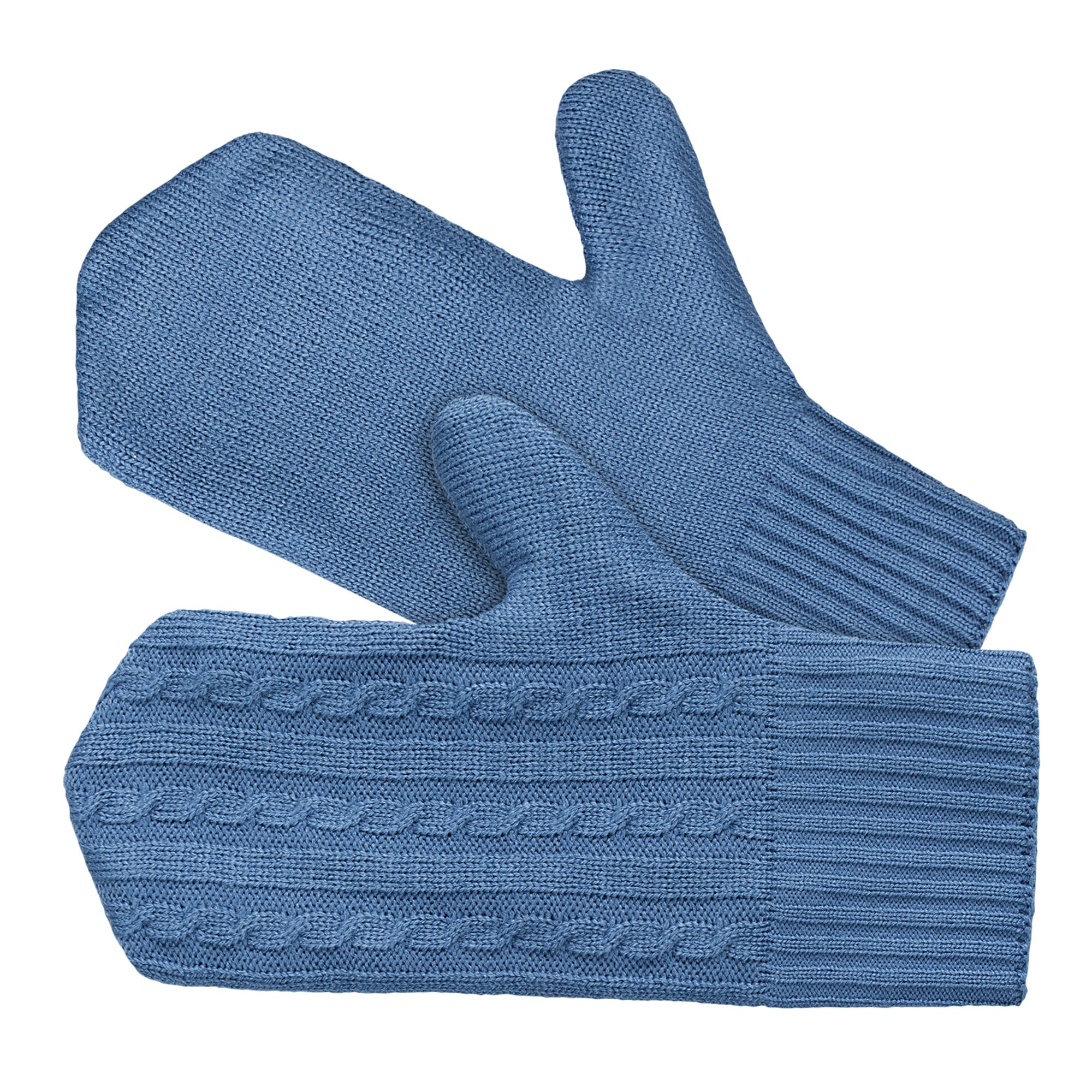 Варежки Comfort Up, синие (индиго)