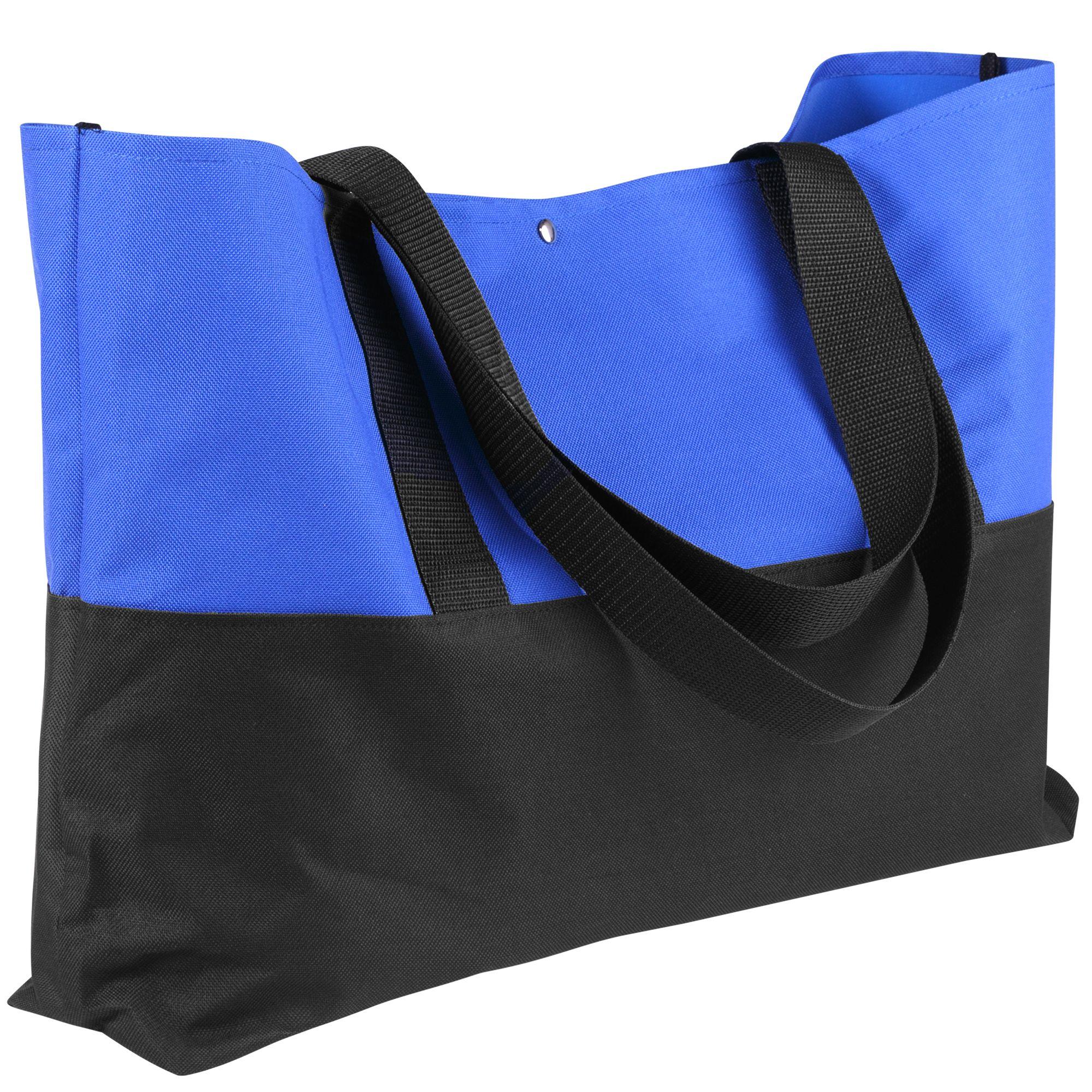 Сумка для покупок Seaside, черно-синяя