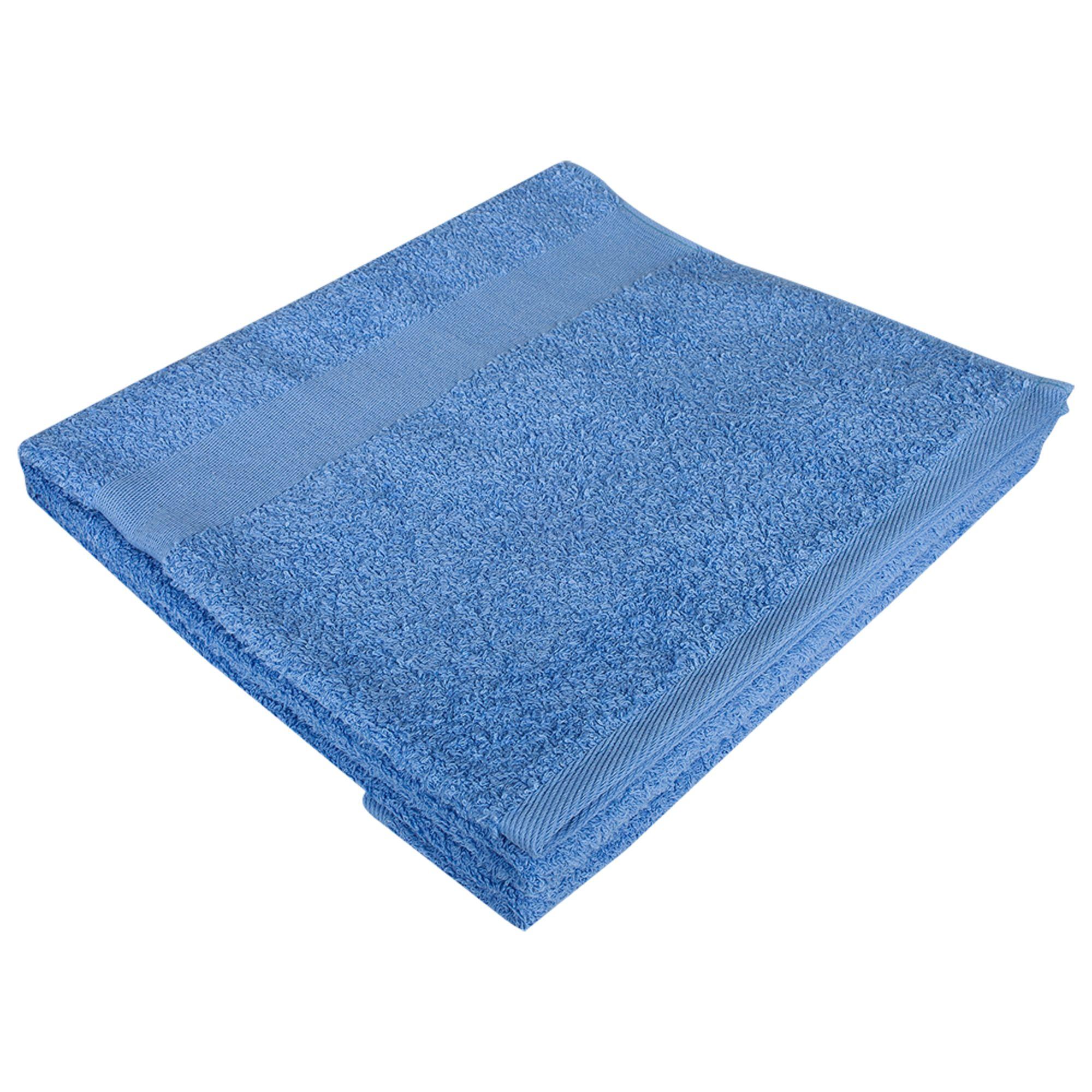 Полотенце махровое Large, голубое