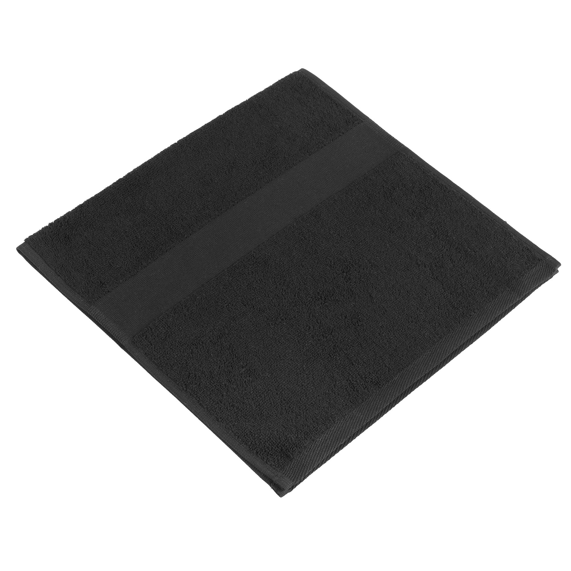 Полотенце махровое Small, черное