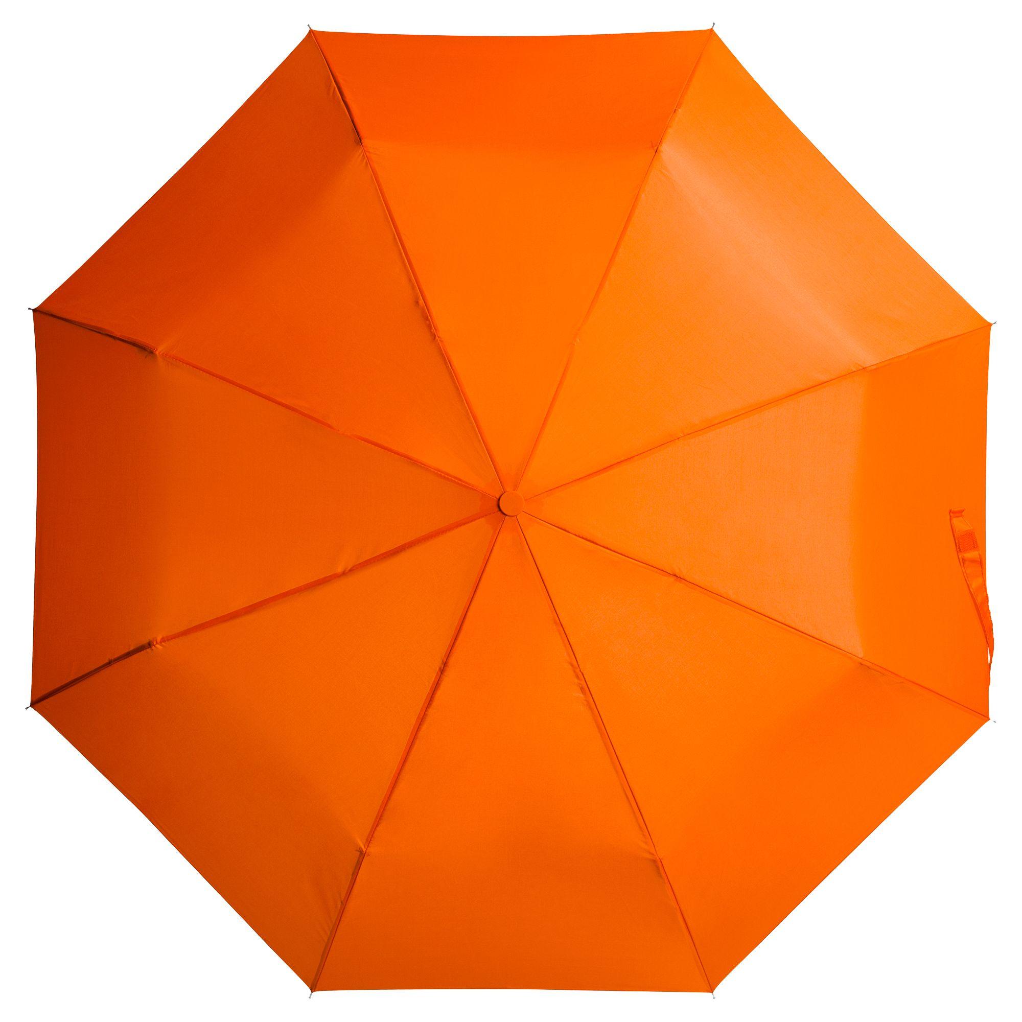 Зонт складной Unit Basic, оранжевый