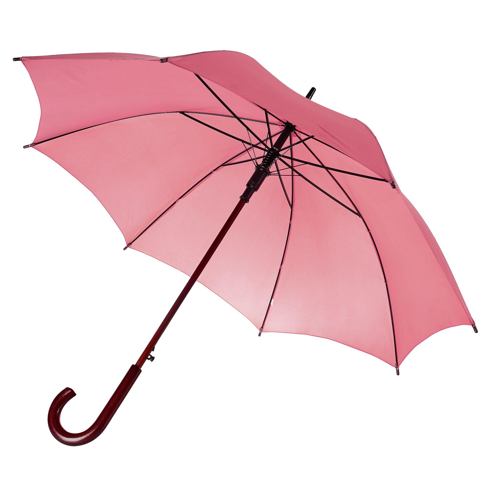 Зонт-трость Unit Standard, розовый