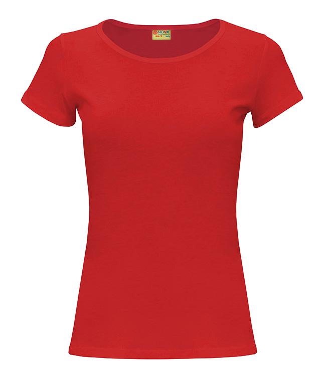 Футболка женская Novic lady 155, красная