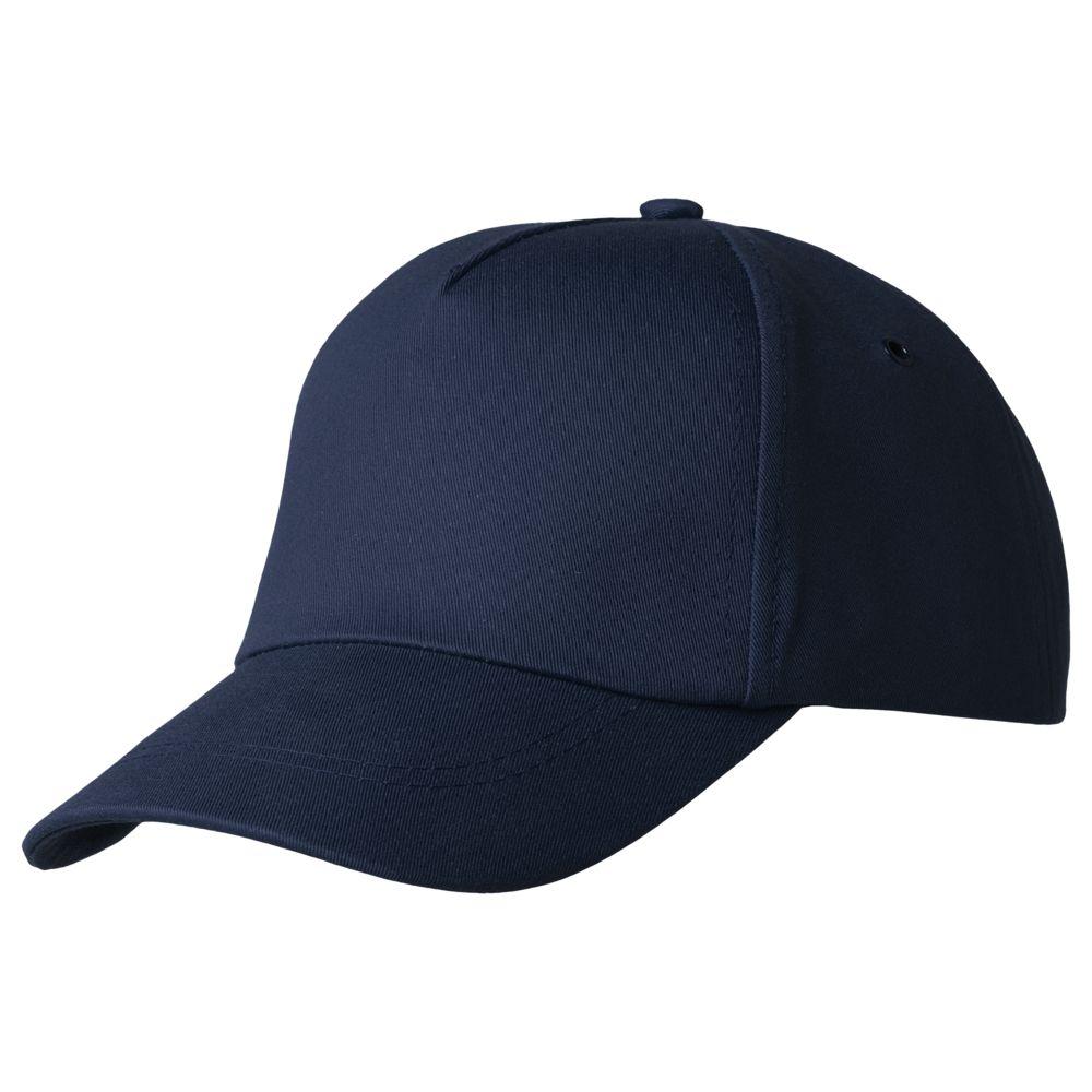 Бейсболка Bizbolka Convention, темно-синяя