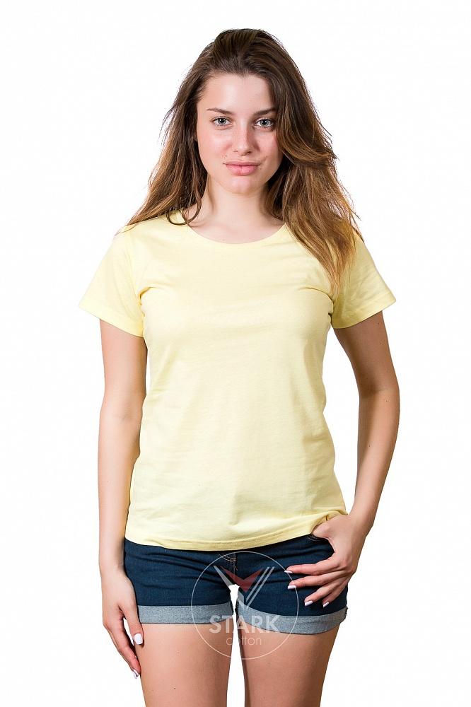 Футболка женская Stark 160, светло-желтая