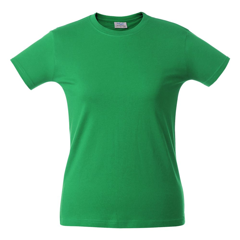Футболка женская HEAVY LADY, зеленая