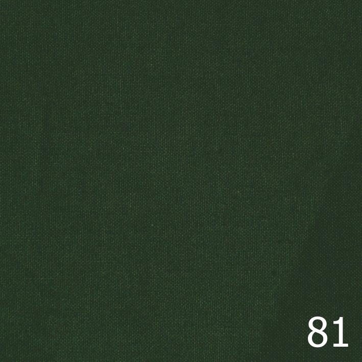 Бандана, бязь однотонная, темно-зеленая