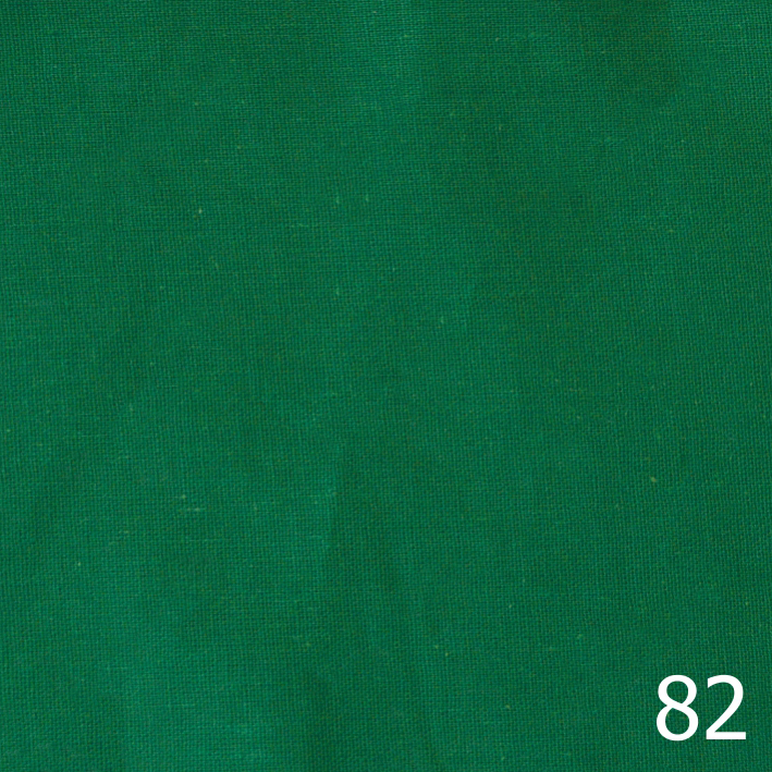 Бандана, бязь однотонная, зеленая