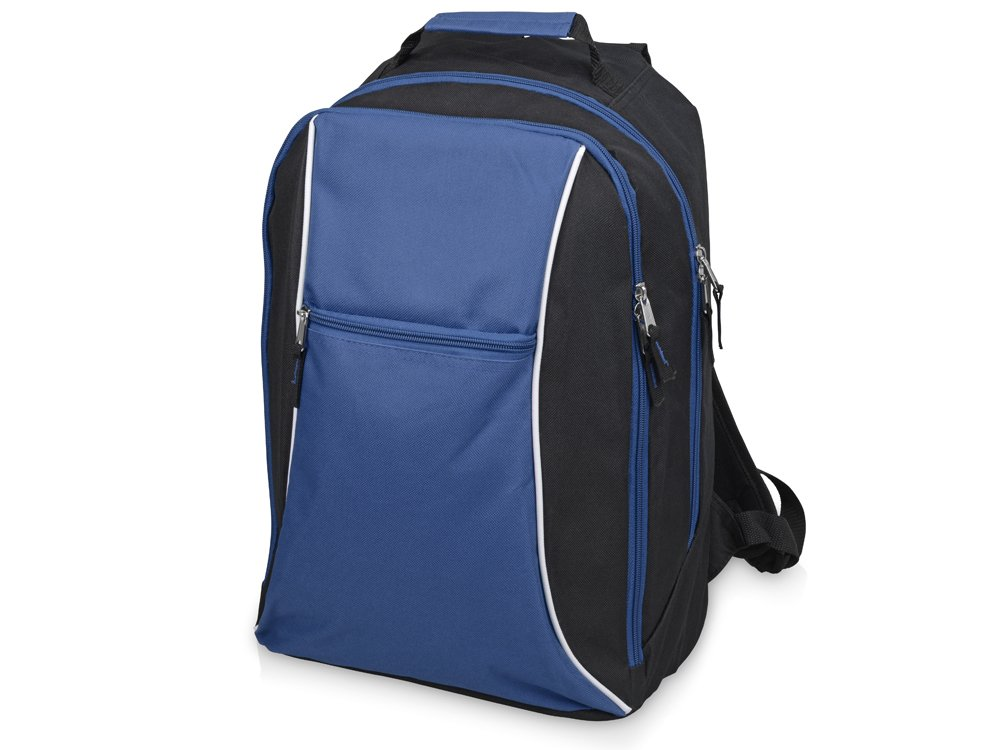 Рюкзак «Спорт», черный/синий