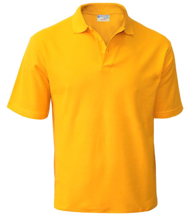 Рубашка поло мужская Redfort 210, подсолнух