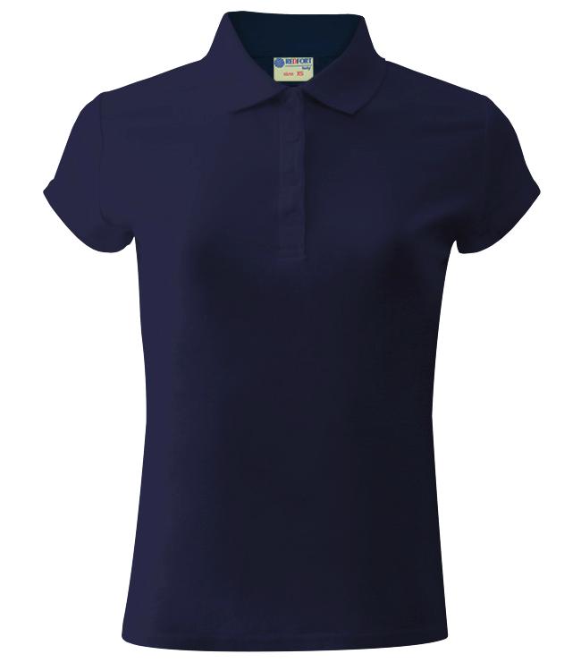 Рубашка поло женская Redfort 205, темно-синяя