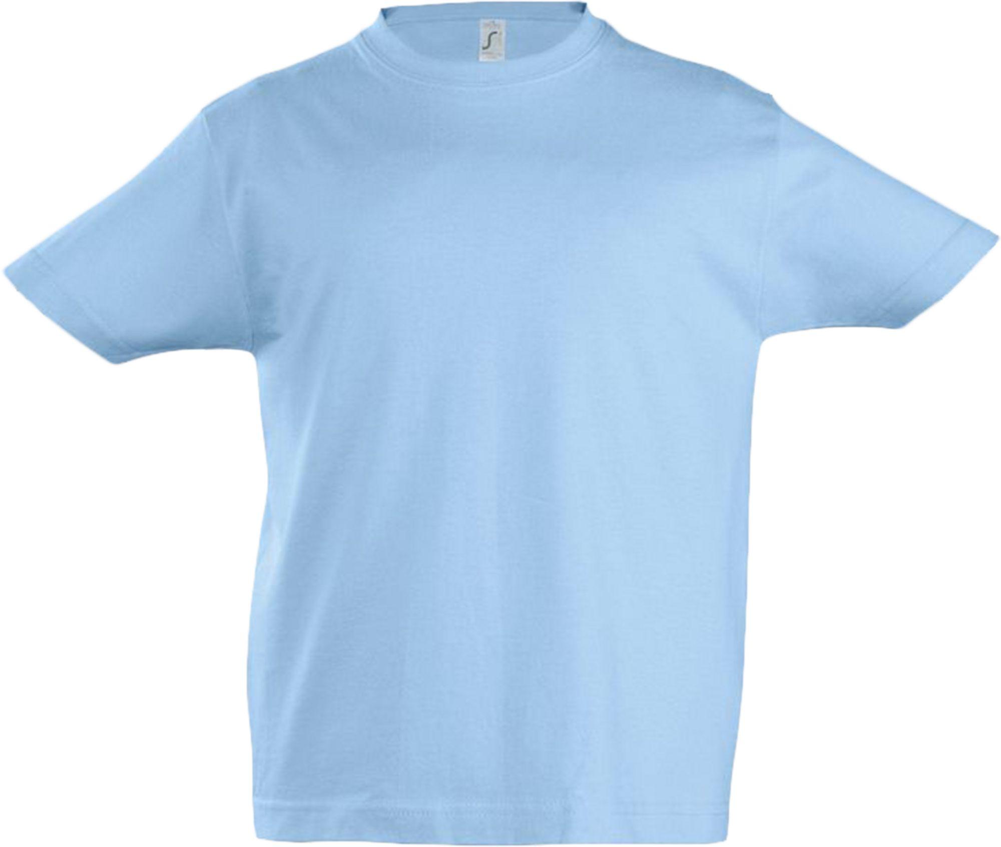Футболка детская Imperial Kids 190, голубая