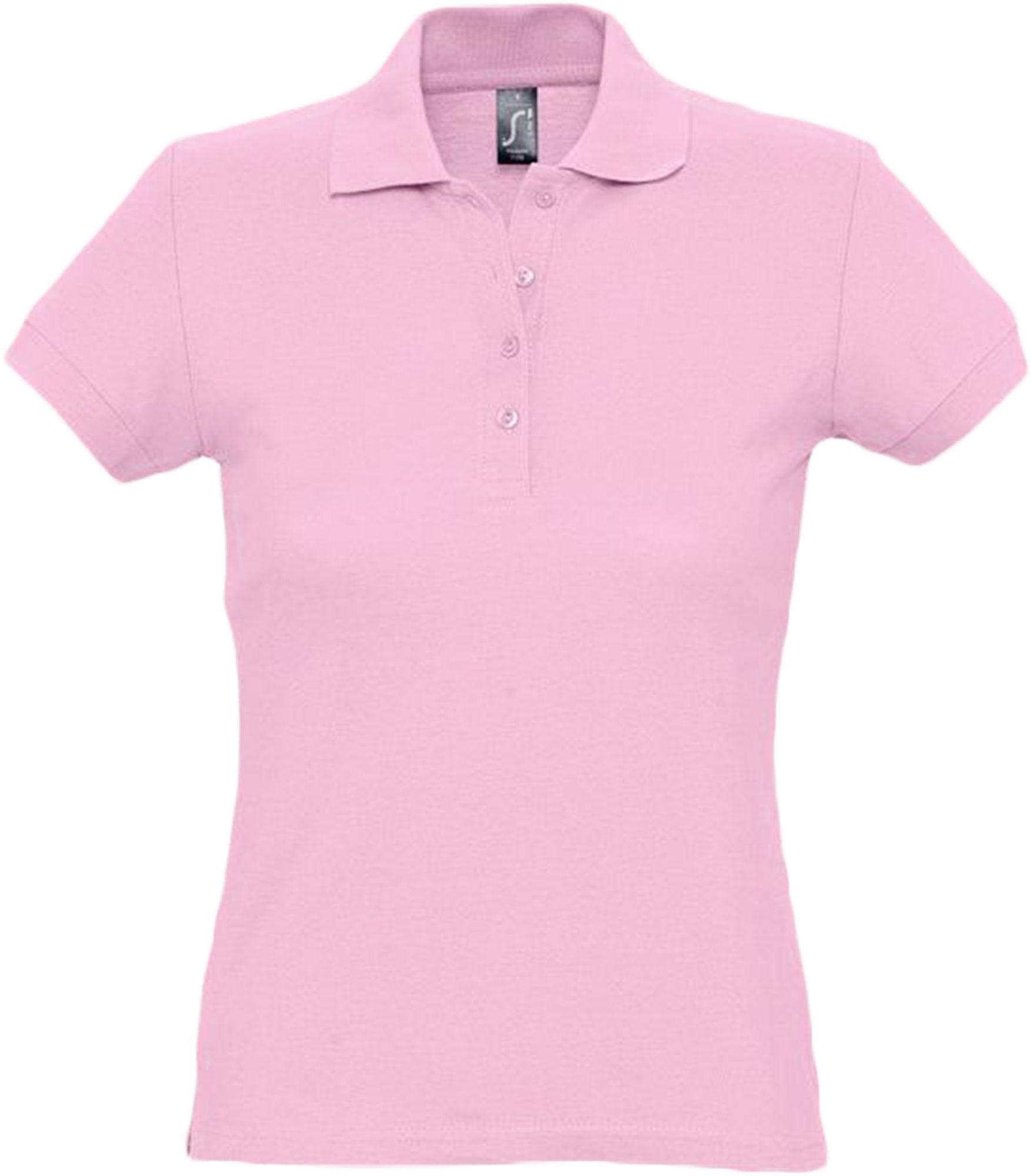 Рубашка поло женская PASSION 170, розовая