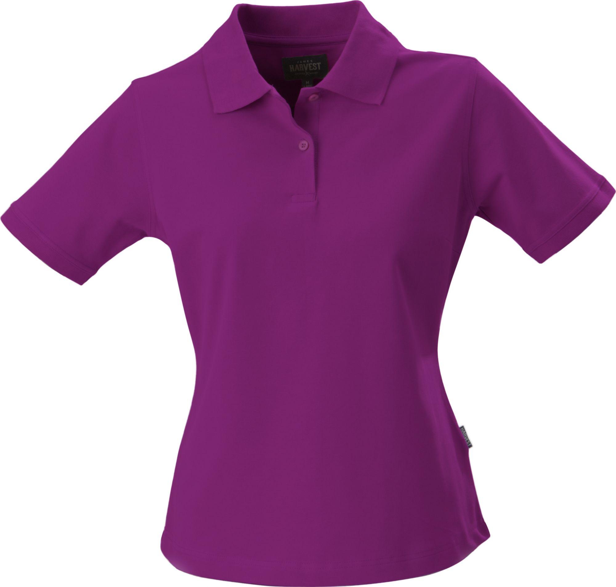 Рубашка поло стретч женская ALBATROSS, лиловая