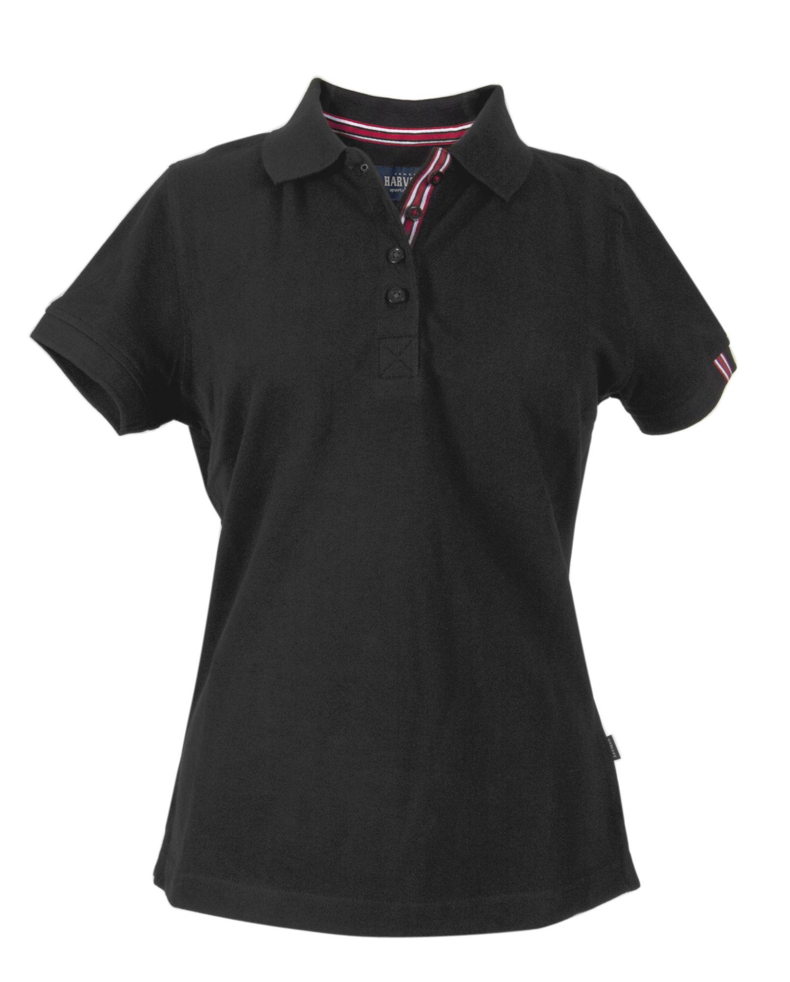 Рубашка поло женская AVON LADIES, черная