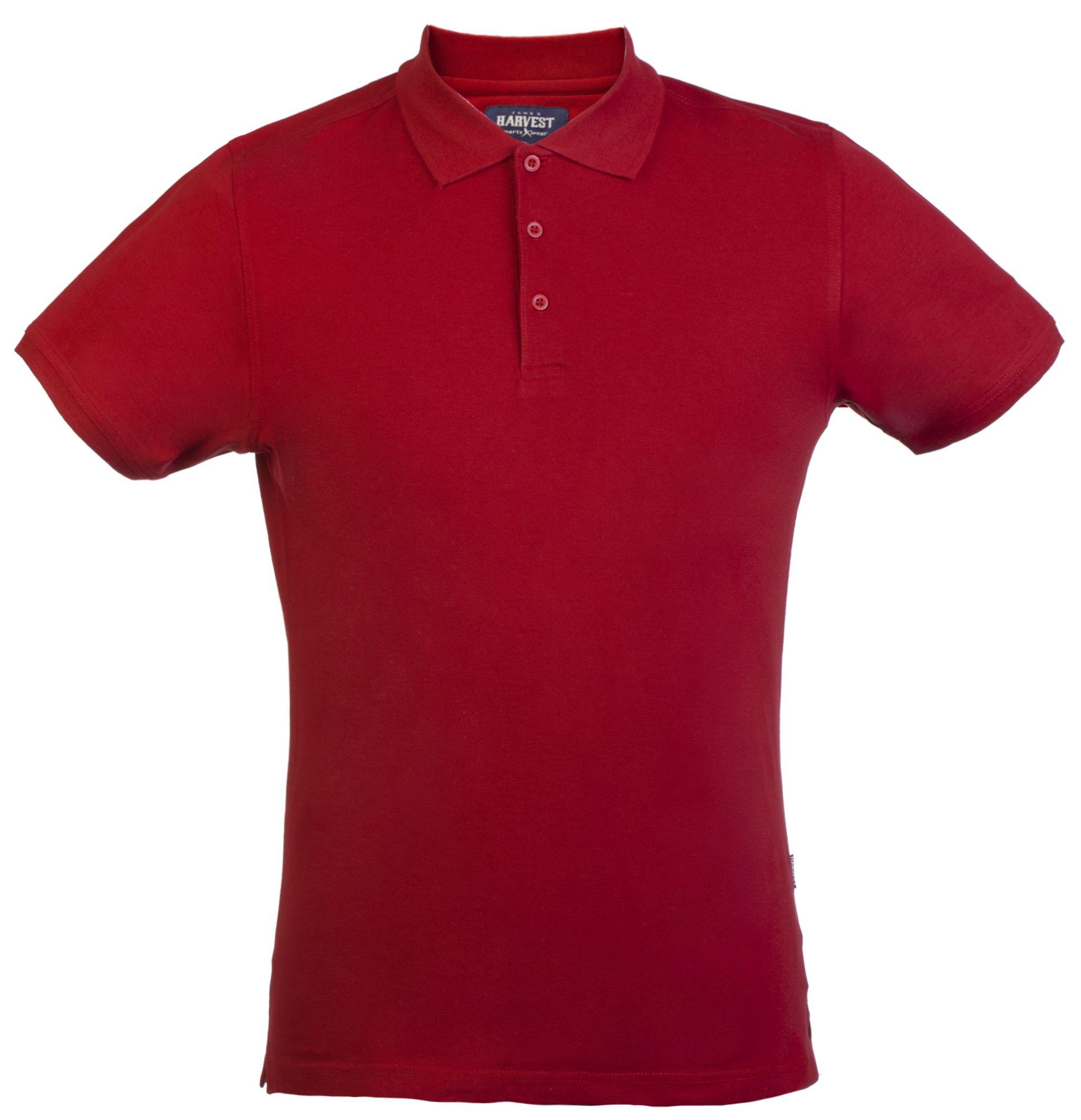 Рубашка поло стретч мужская EAGLE, красная