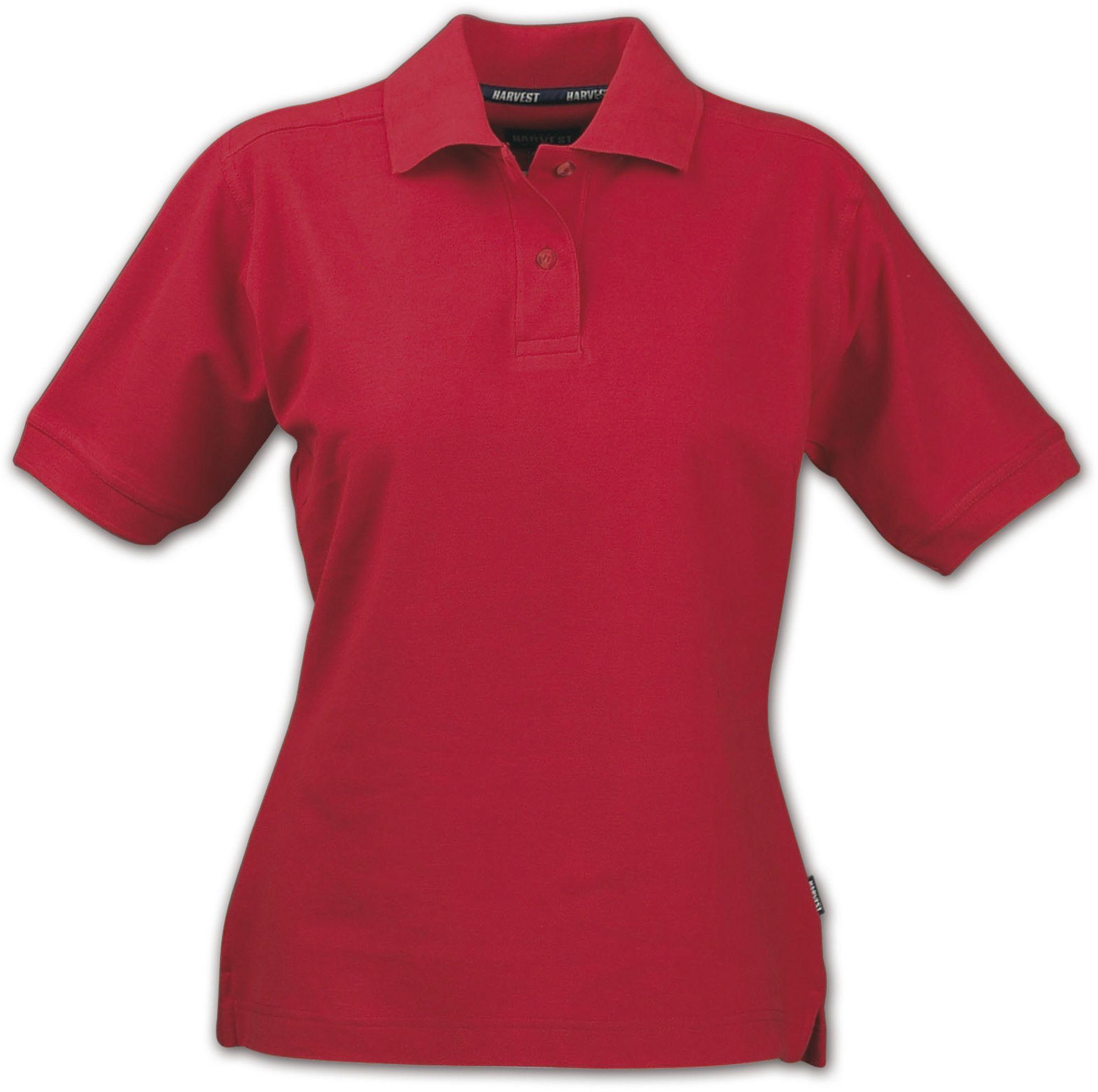 Рубашка поло женская SEMORA, красная