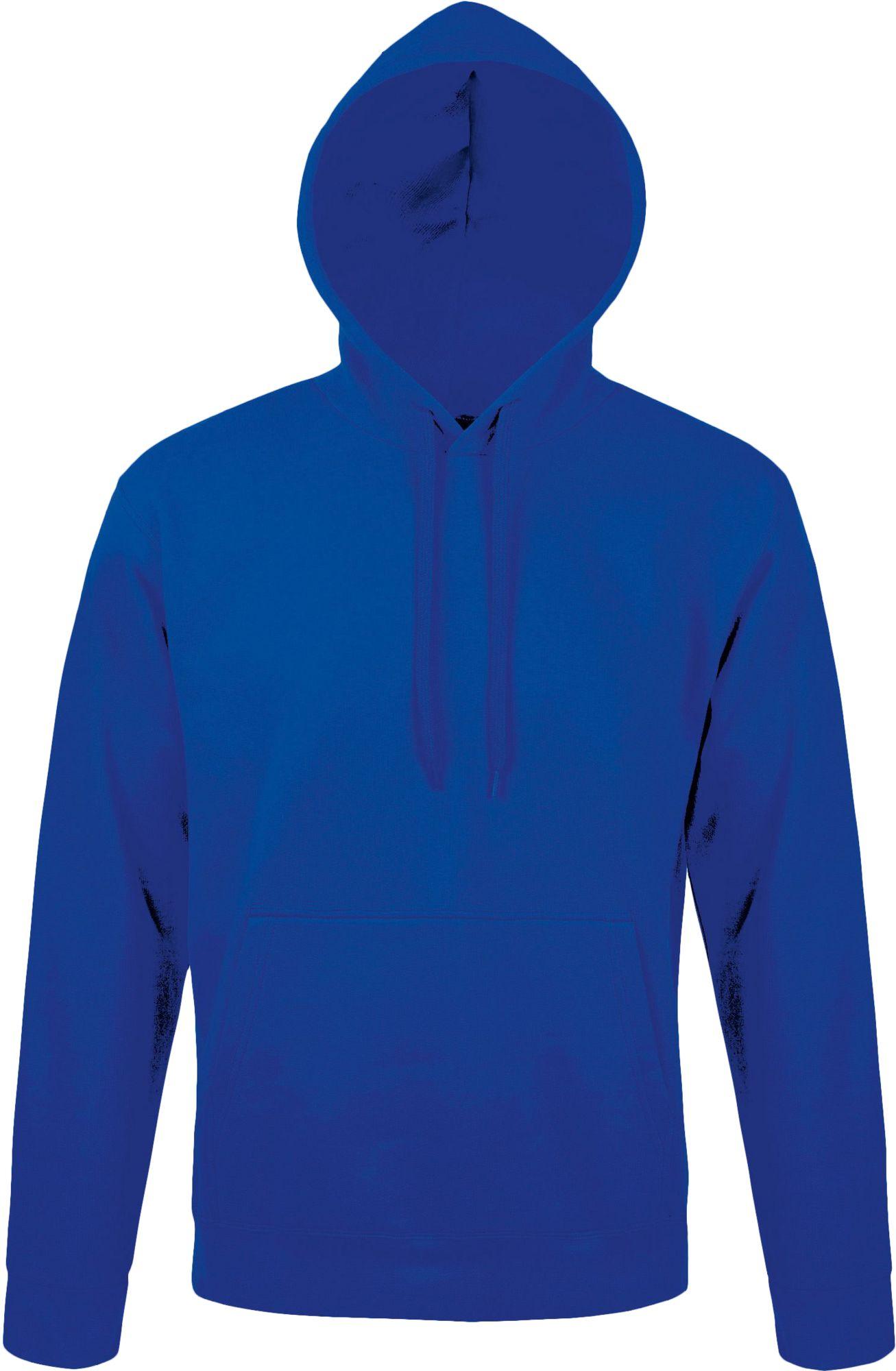 Толстовка с капюшоном Snake 280, ярко-синяя