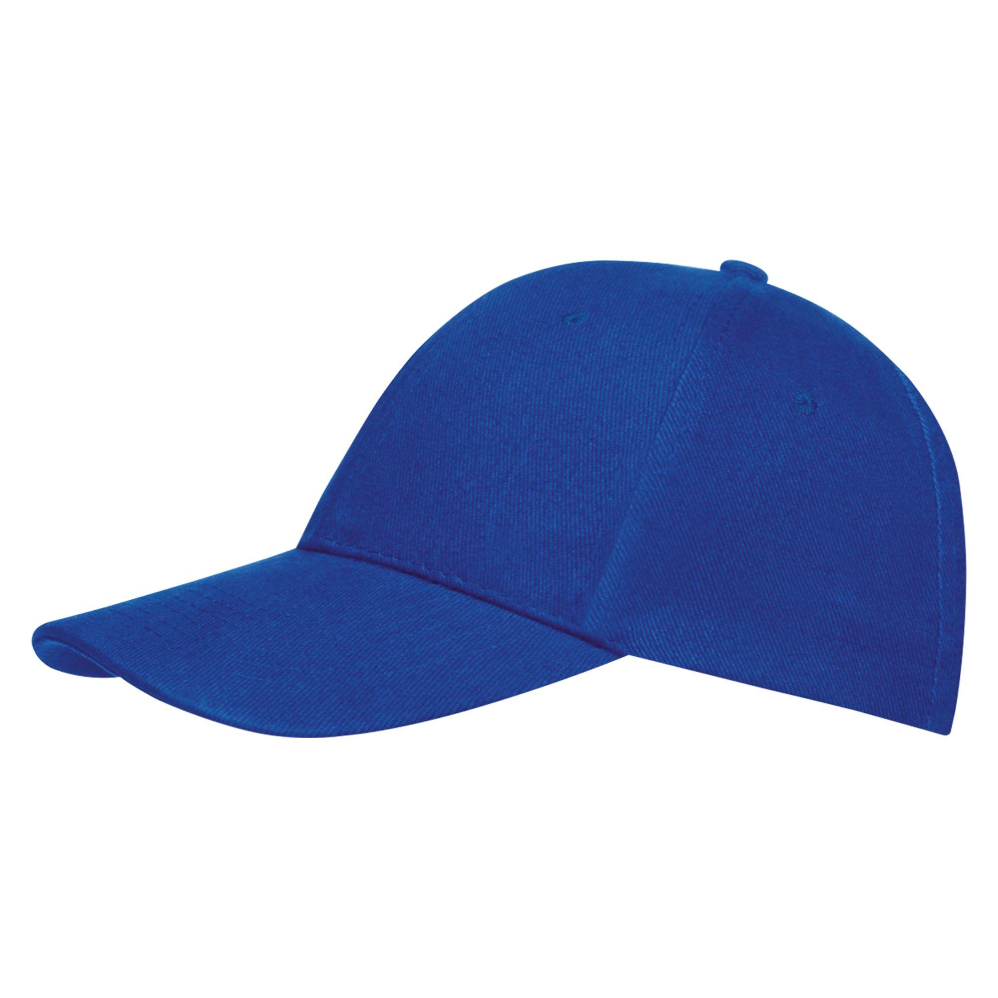Бейсболка BUFFALO, ярко-синяя