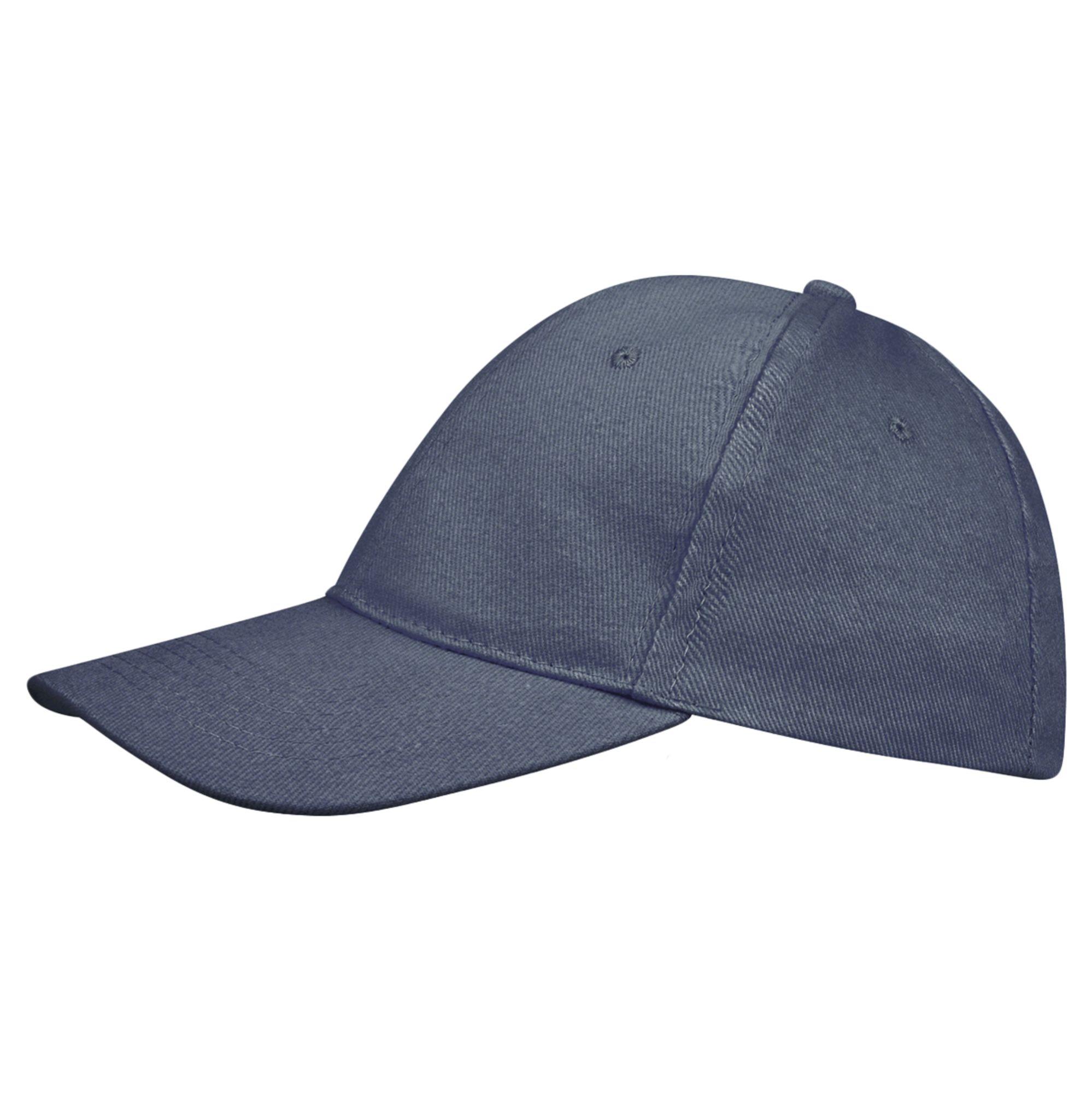 Бейсболка BUFFALO, синяя (джинс)