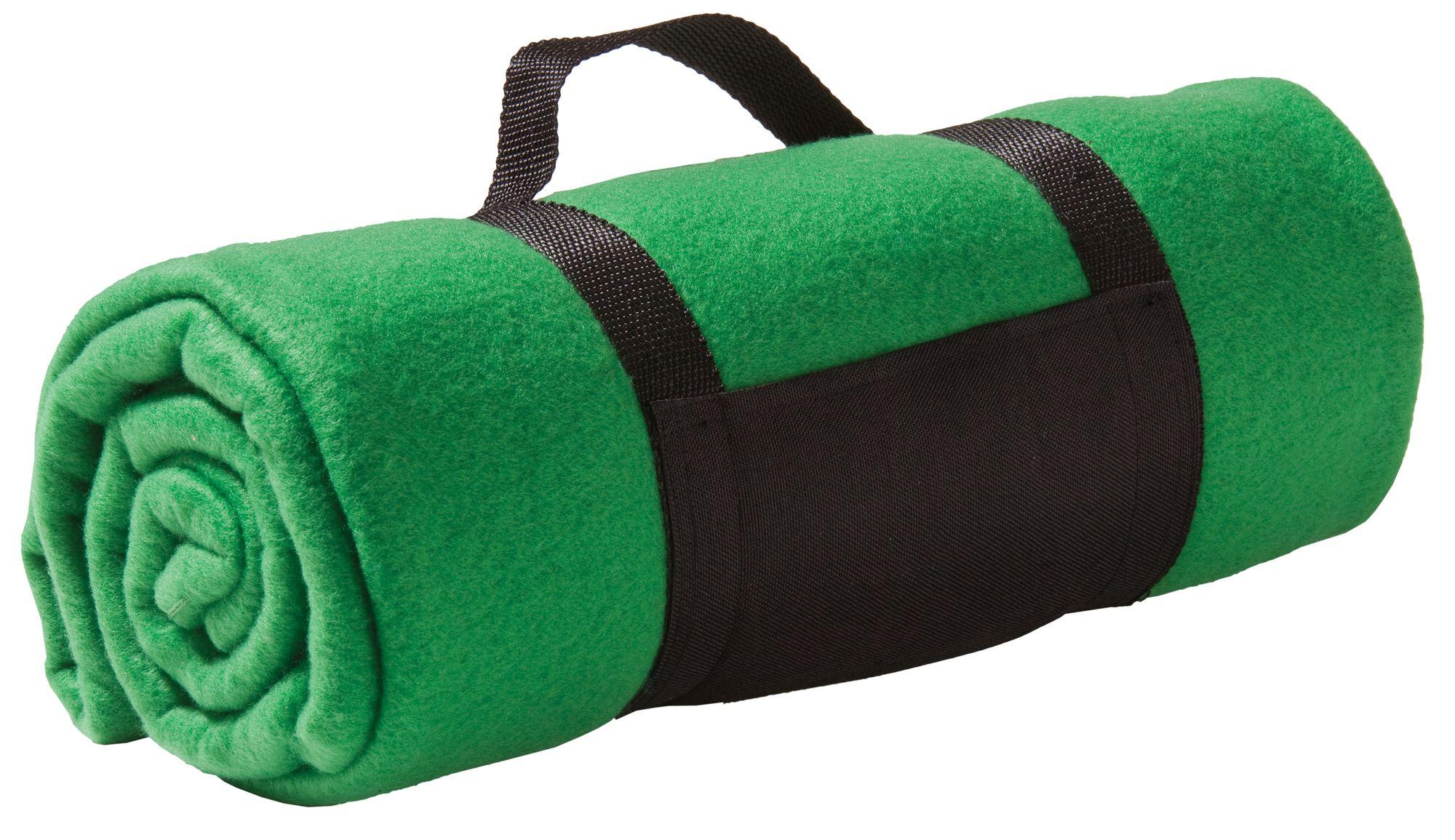 Дорожный плед Soft, зеленый