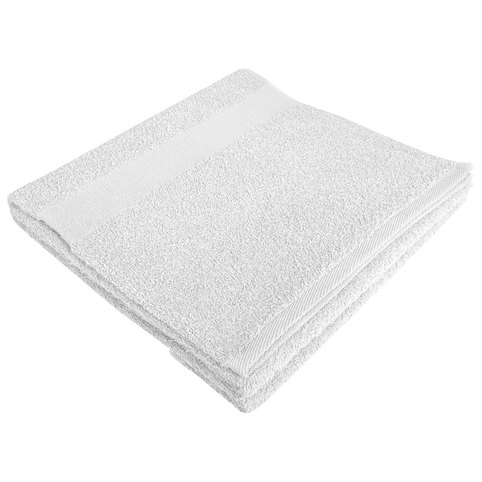 Полотенце махровое Large, белое