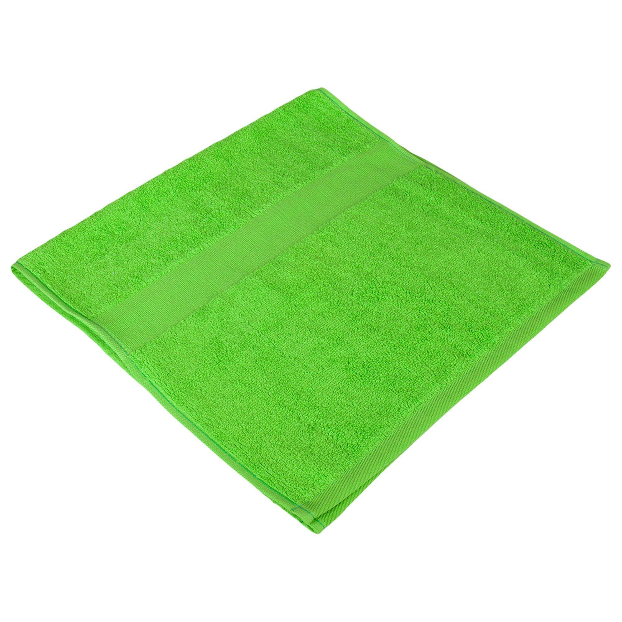 Полотенце махровое Small, зеленое яблоко