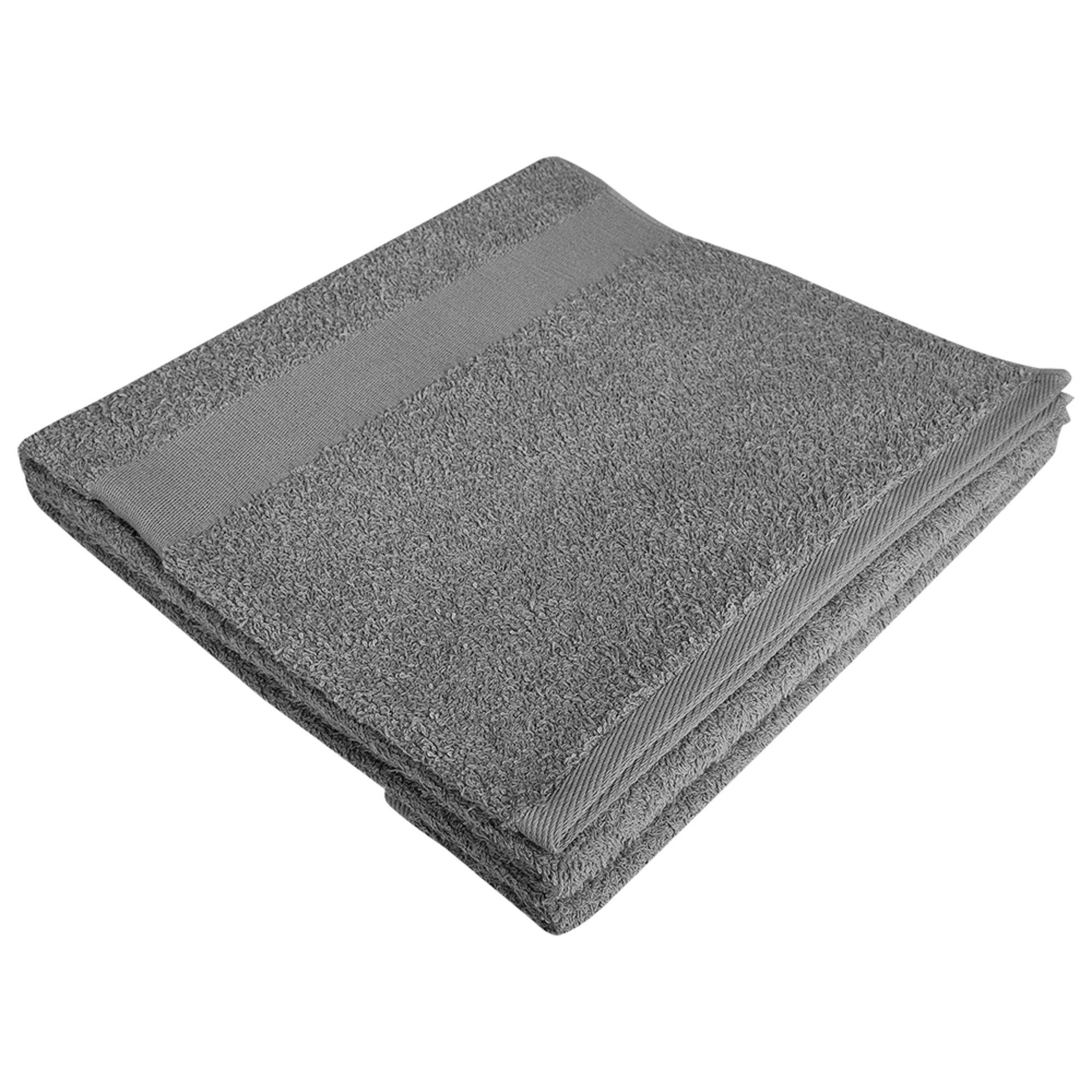 Полотенце махровое Large, серое