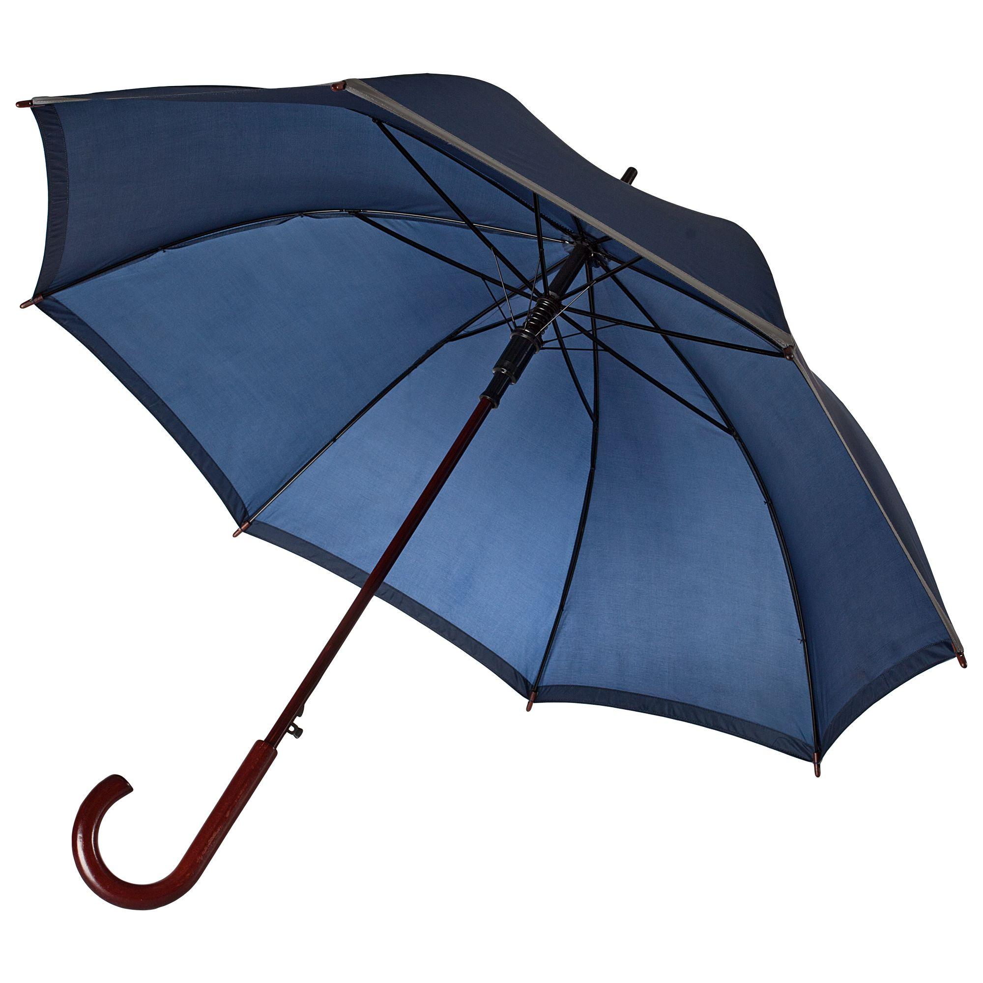 Зонт-трость Unit Reflect, синий