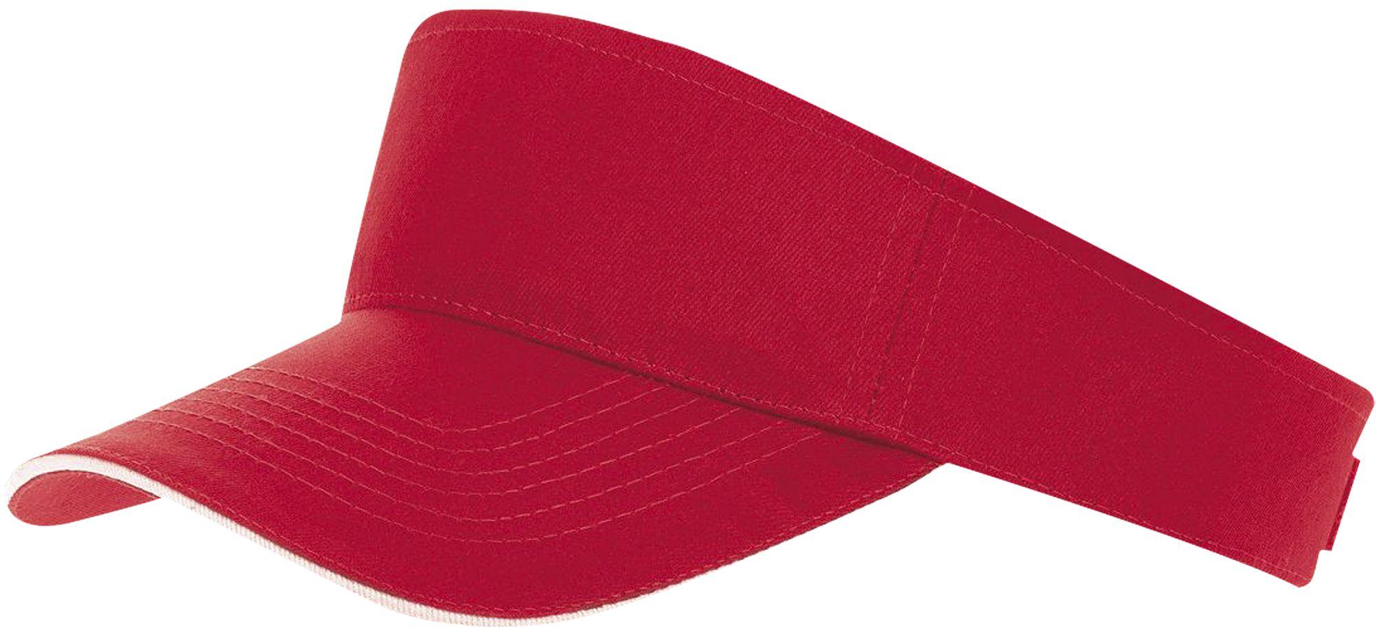 Козырек ACE, красный с белым
