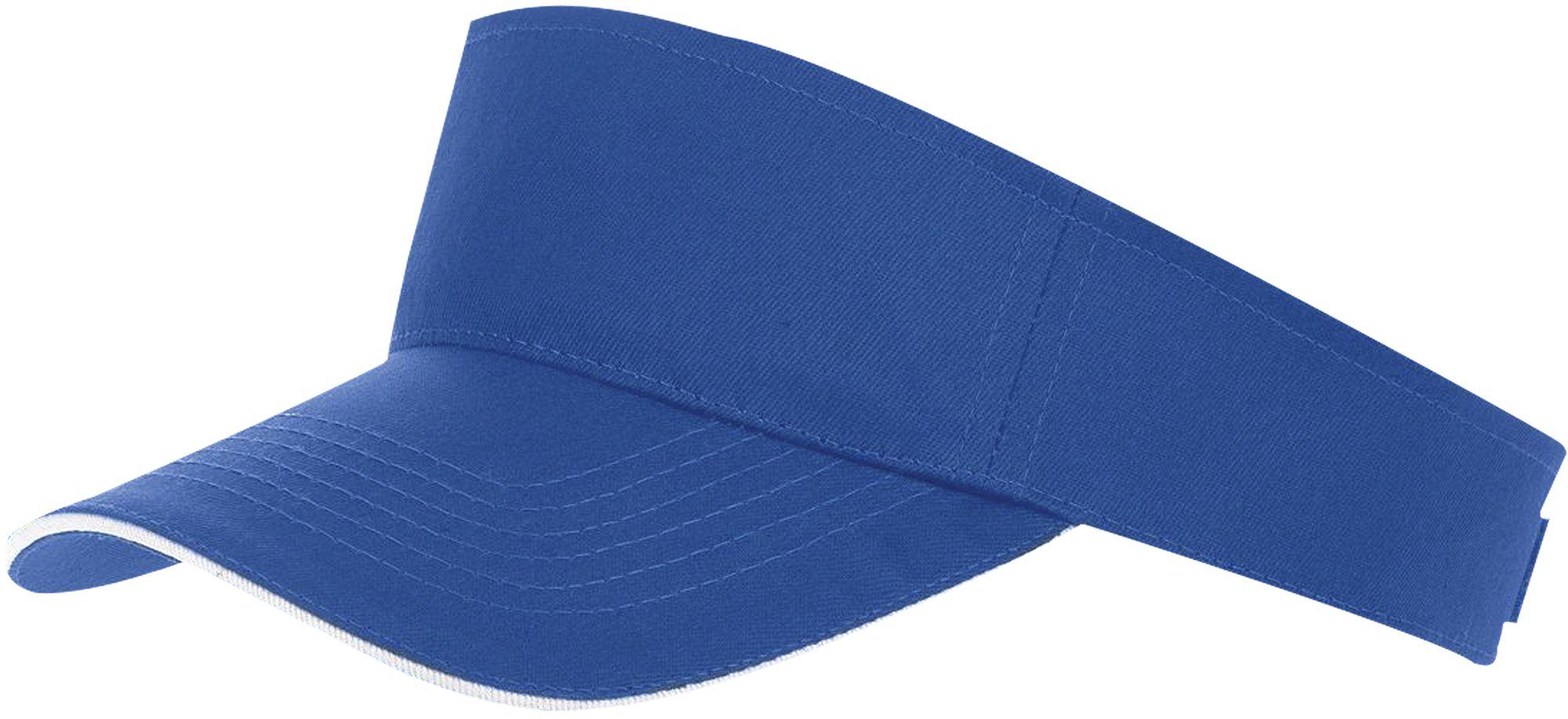 Козырек ACE, ярко-синий с белым