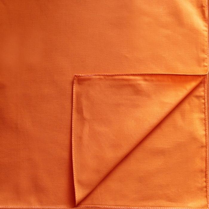 Бандана Leader 30 однотонная, оранжевая