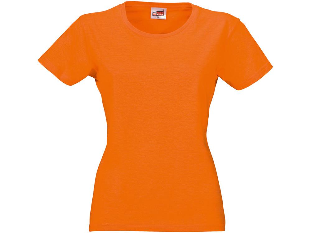 """Футболка """"Heavy Super Club"""" женская, оранжевый"""