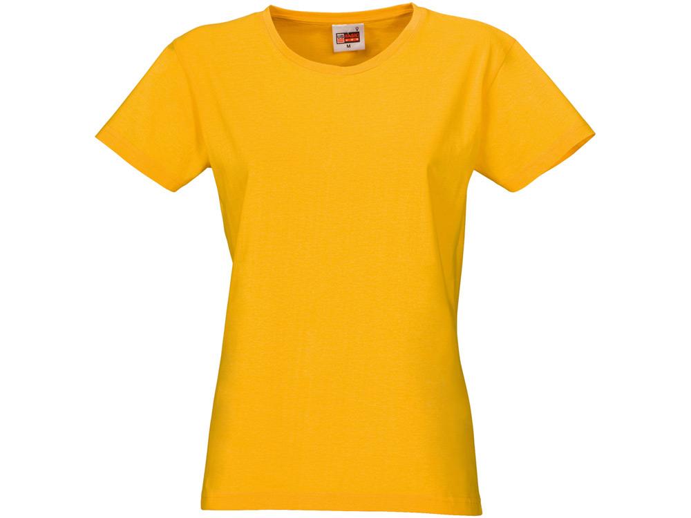 "Футболка ""Heavy Super Club"" женская, золотисто-желтый"
