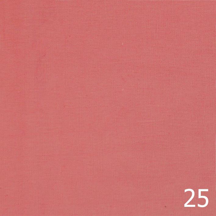 Бандана, бязь однотонная, розовая