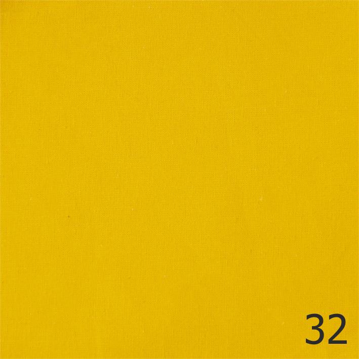 Бандана, бязь однотонная, желтая
