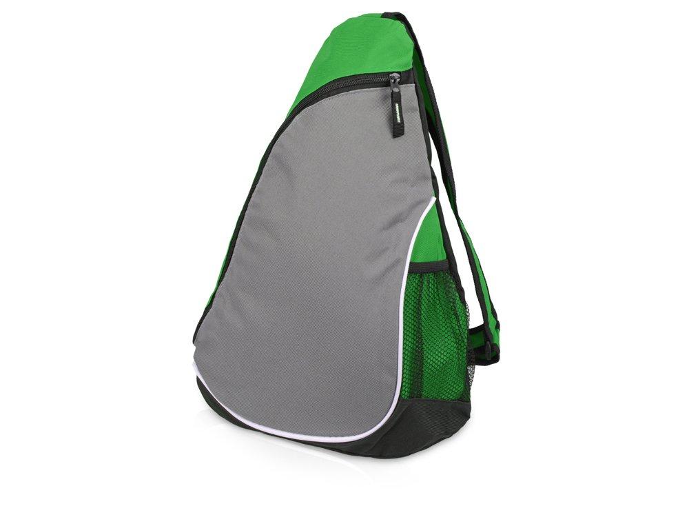 """Рюкзак """"Спортивный"""", классический зеленый/серый"""