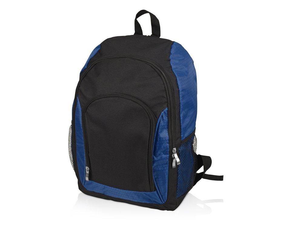 Рюкзак «Орегон», черный/синий